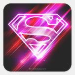 Supergirl Pink Sticker
