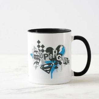 Supergirl Spills and Splatter Mug