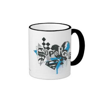 Supergirl Spills and Splatter Coffee Mugs