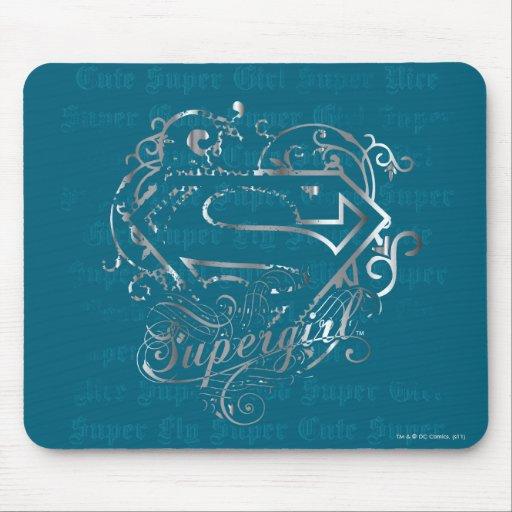 Supergirl Super Fly Super Cute Mousepads