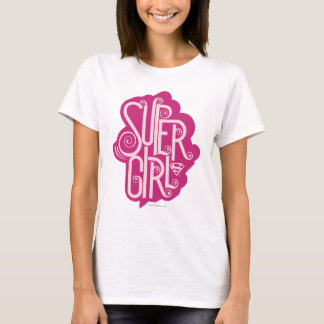 Supergirl Swirl 1 T-Shirt