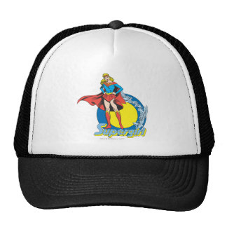 Supergirl with Logo Mesh Hats