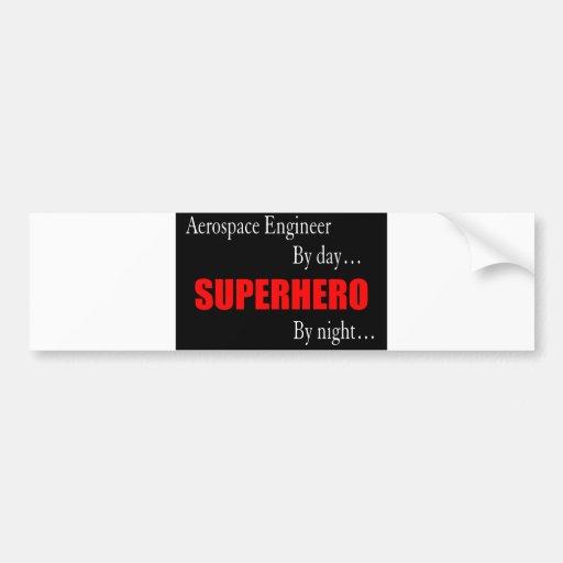 Superhero Aerospace Engineer Bumper Stickers