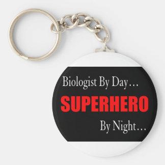 Superhero Biologist Key Ring