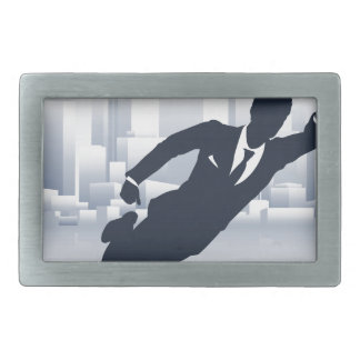 Superhero Business Man Belt Buckle