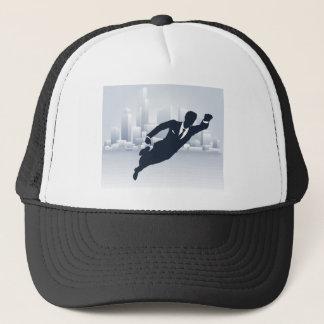 Superhero Business Man Trucker Hat