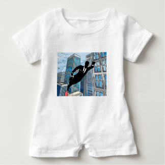 Superhero Businessman Baby Bodysuit