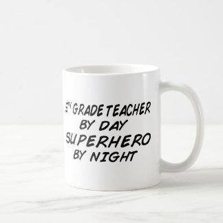 Superhero by Night - 5th Grade Coffee Mug