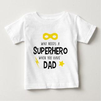 Superhero Dad Baby T-Shirt
