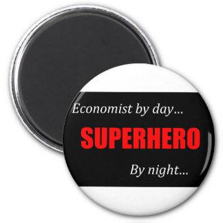 Superhero Economists Magnet
