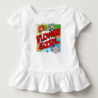 Superhero Flower Girl Toddler T-Shirt