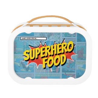 Superhero food lunch box