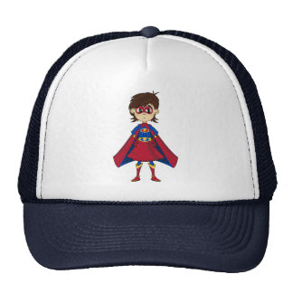 Superhero Girl Baseball Cap