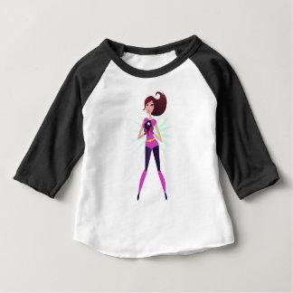 Superhero girl original design edition baby T-Shirt
