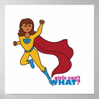 Superhero Girl Poster