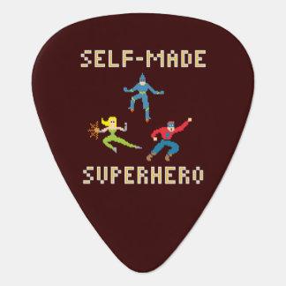 Superhero Guitar Pick