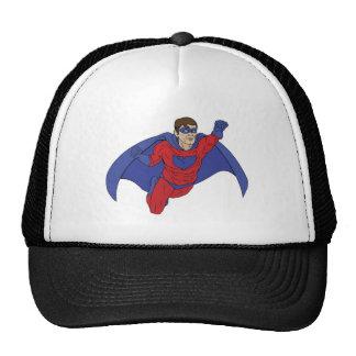 Superhero Illustration Trucker Hat