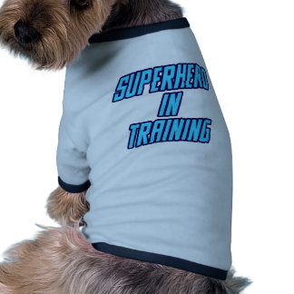 Superhero In Training - Blue Pet Tee