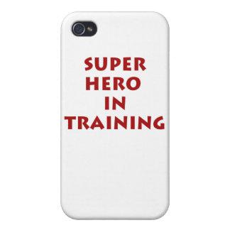 Superhero in training iPhone 4 case