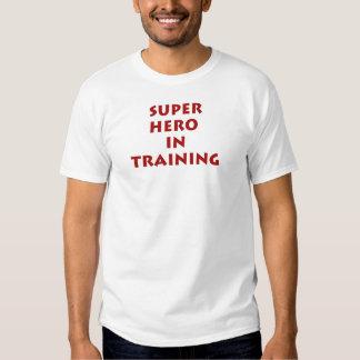 Superhero in training t shirt