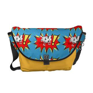 Superhero Kapow Cow Commuter Bags