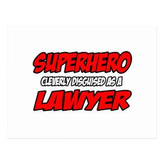 Superhero...Lawyer Postcards