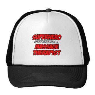 Superhero...Massage Therapist Cap