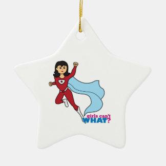 Superhero - Medium Ceramic Ornament