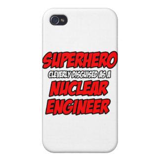 Superhero .. Nuclear Engineer Case For iPhone 4