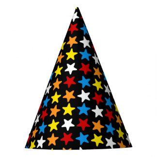Superhero Party Hat - Multi Color Star