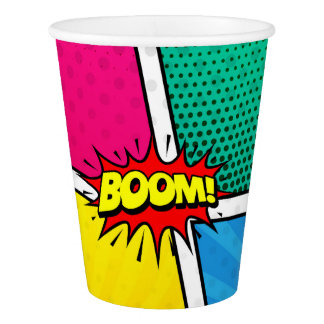 SuperHero Party paper cup