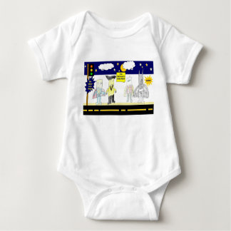 Superhero series #2 baby bodysuit