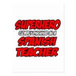 Superhero...Spanish Teacher