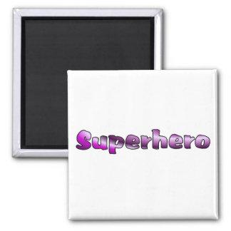 Superhero Square Magnet