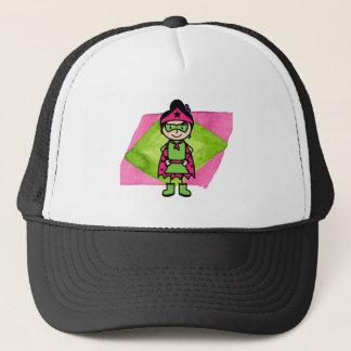 Superhero T-Shirt (Stop Child Abuse) Trucker Hat