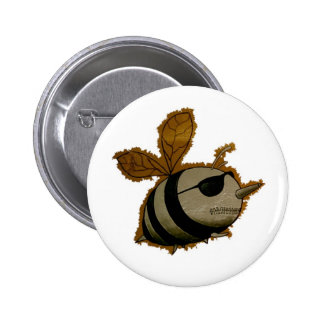 Superheroes bees, Button