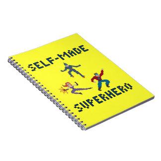 Superheroes paper notebook