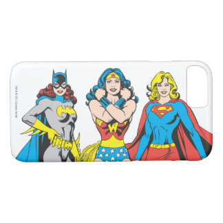 Superheroines Pose iPhone 7 Case