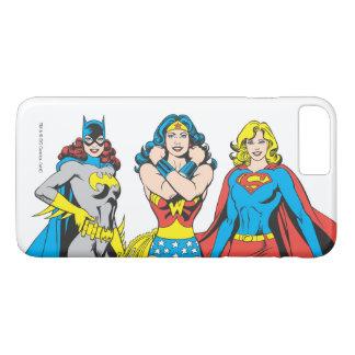 Superheroines Pose iPhone 7 Plus Case