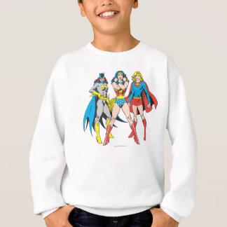Superheroines Pose Sweatshirt