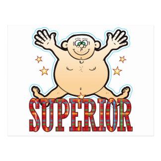 Superior Fat Man Postcard