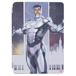 Superior Iron Man And City iPad Air Cover
