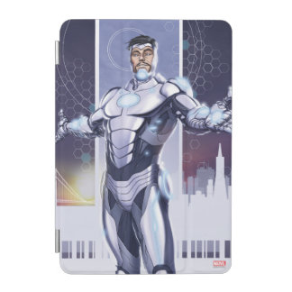 Superior Iron Man And City iPad Mini Cover