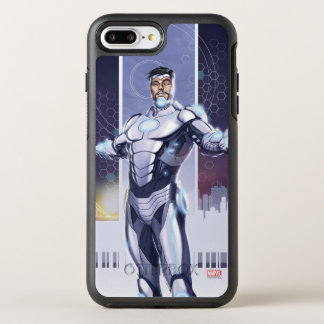 Superior Iron Man And City OtterBox Symmetry iPhone 7 Plus Case