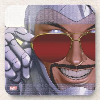 Superior Iron Man In Sunglasses Coaster