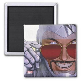 Superior Iron Man In Sunglasses Magnet