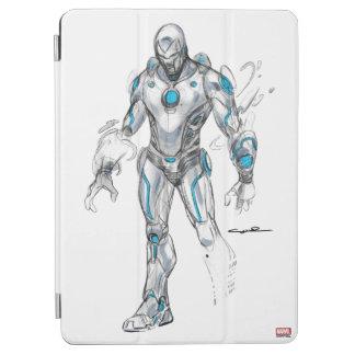 Superior Iron Man Sketch iPad Air Cover