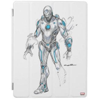 Superior Iron Man Sketch iPad Cover