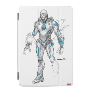 Superior Iron Man Sketch iPad Mini Cover