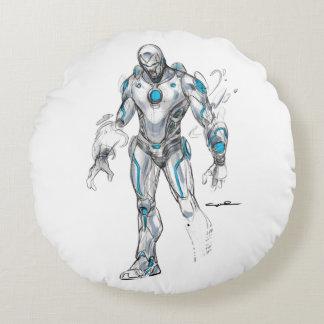 Superior Iron Man Sketch Round Cushion